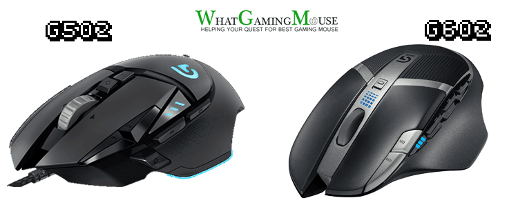 Logitech G602 vs Logitech G502 - Comparison Between G602 vs