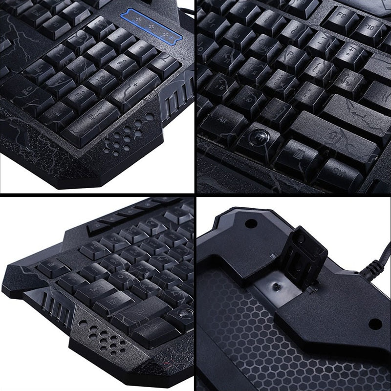 darshin m300 russian english backlit keyboard led 3 color usb wired colorful whatgamingmouse. Black Bedroom Furniture Sets. Home Design Ideas